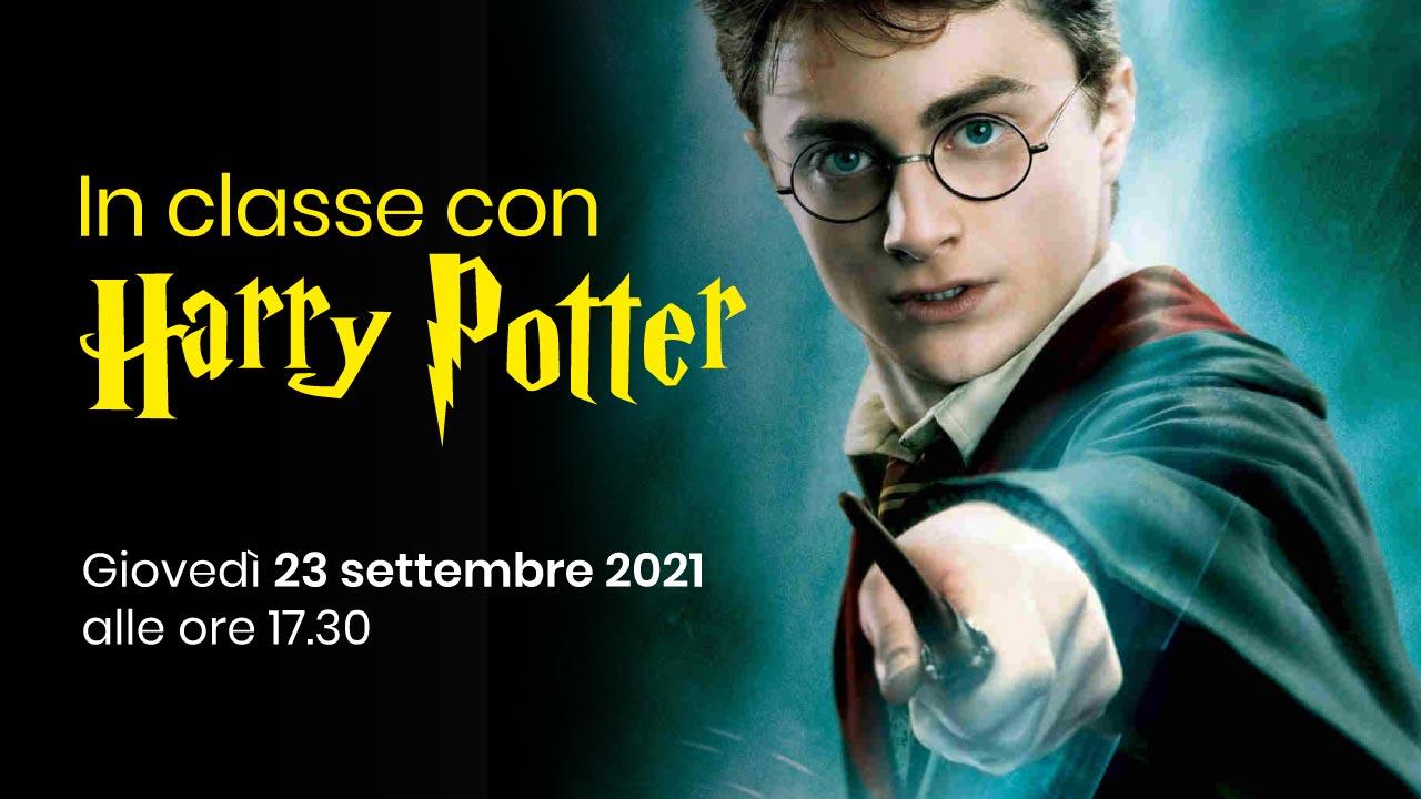 In classe con Harry Potter